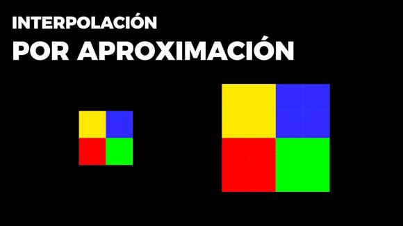 Interpolación por aproximación, en Photoshop