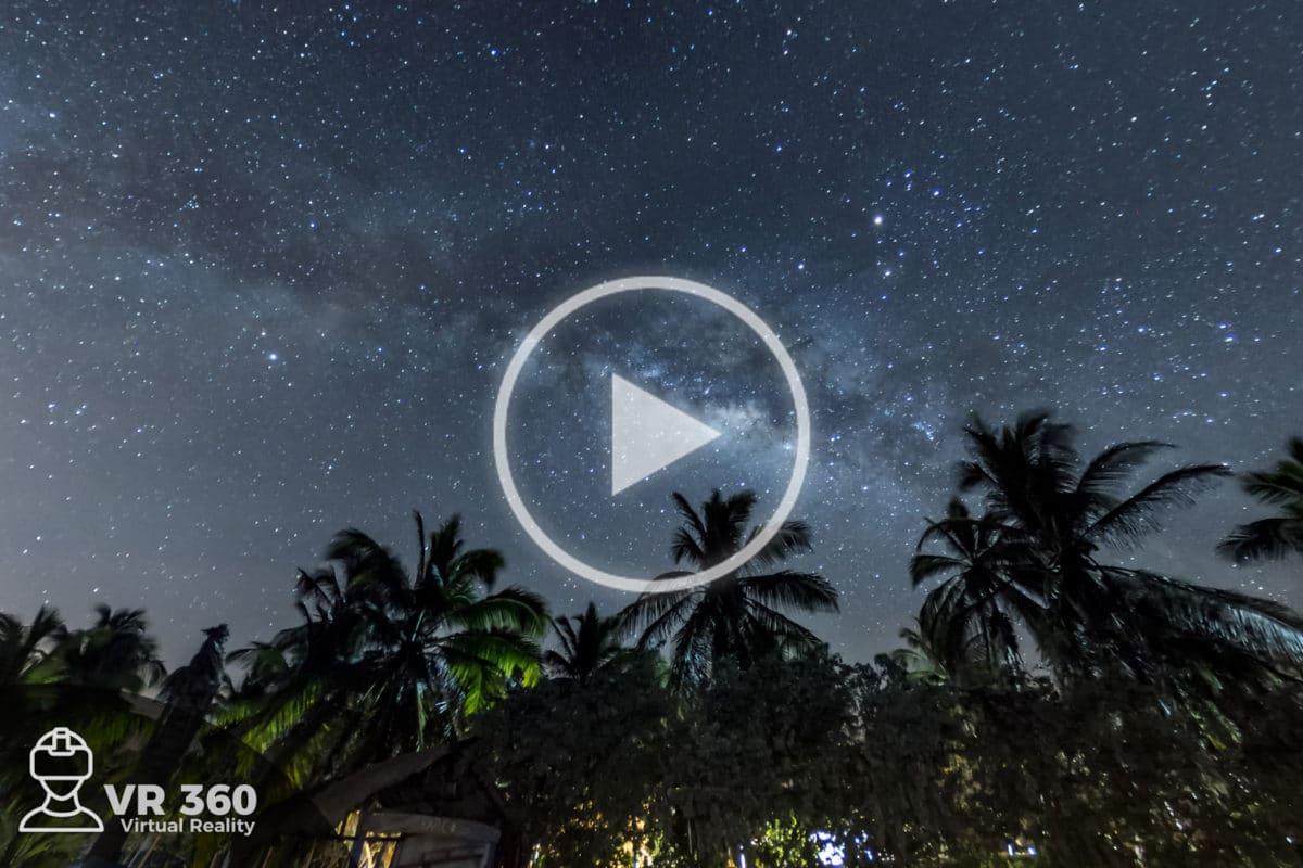 Vía Láctea en el Caribe