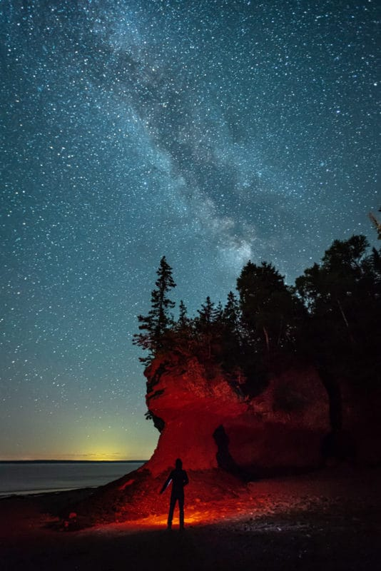 Hopewell Rocks en la Bahía de Fundy