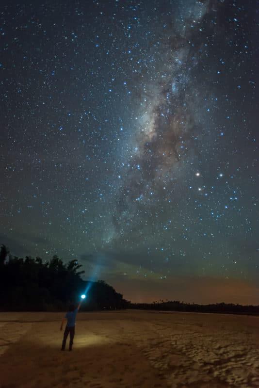 Vía Láctea en Puerto Arango