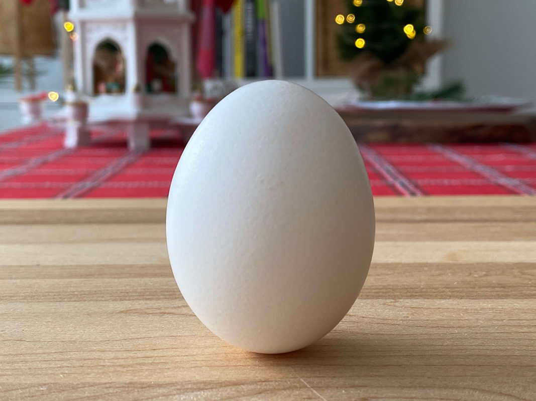 Cómo estabilizar un huevo